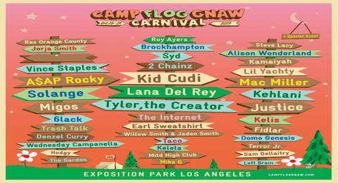 c36b97b46287 6th Annual Camp Flog Gnaw Carnival Announces Lineup Tickets Go On Sale This  Thursday